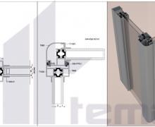 Isı Yalıtımlı Alüminyum Profil Konfor Sinerji  Isı camlı Cam Balkon